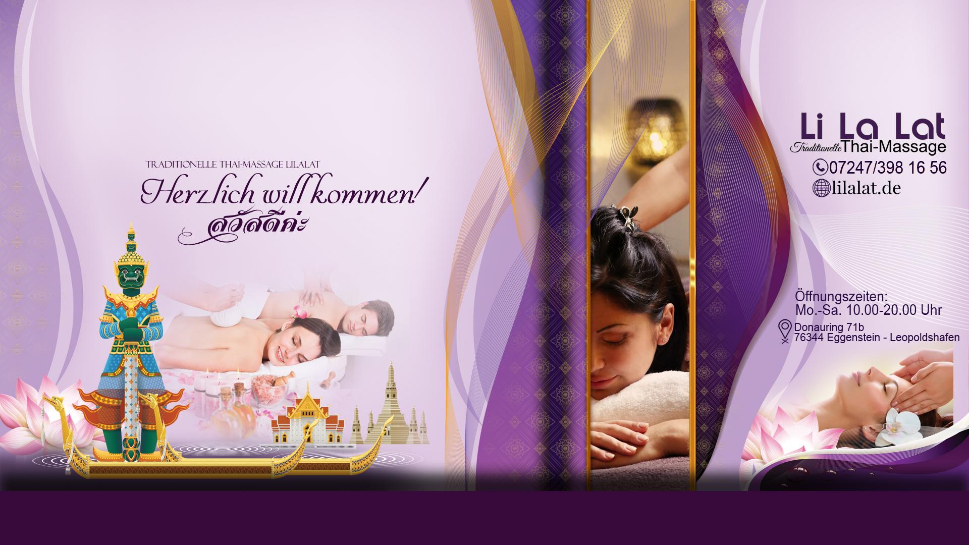 Thai-Massage Eggenstein-Leopoldshafen LiLaLat Thaimassage